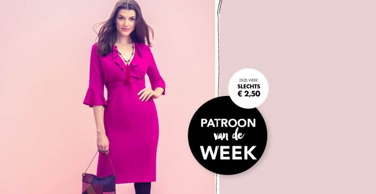 Patroon van de week | Vrouwelijk Fuchsia