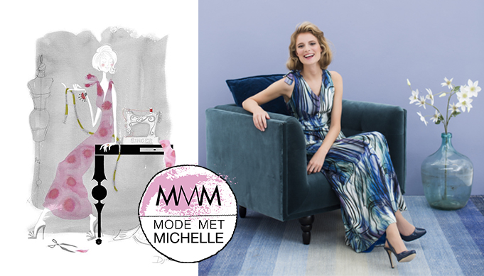 WIN | Mode illustratie van Djovrie Krüs – Mode met Michelle