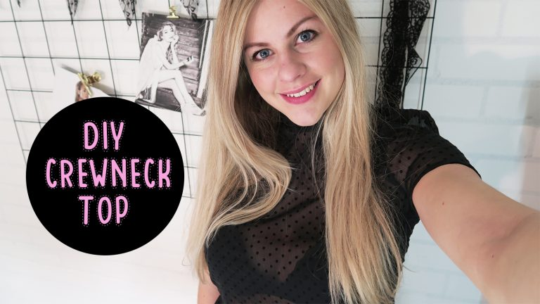 DIY | Top met col – Mode met Michelle