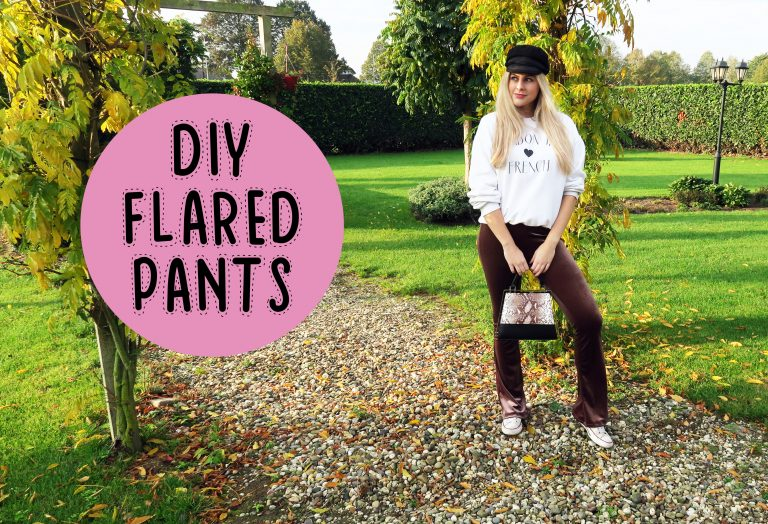 DIY | Flared pants – mode met Michelle