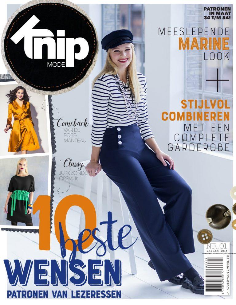 Afbeeldingsresultaat voor knip mode magazine nederland cover