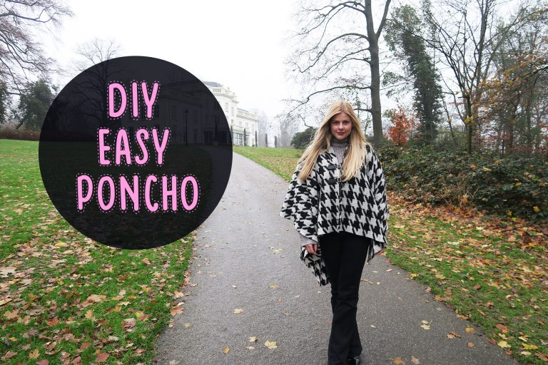 DIY | Easy poncho – Mode met Michelle
