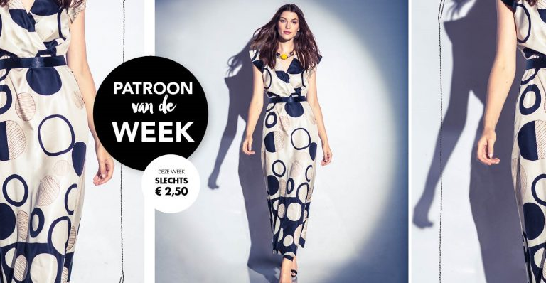 Patroon van de week | Jurk van Janice