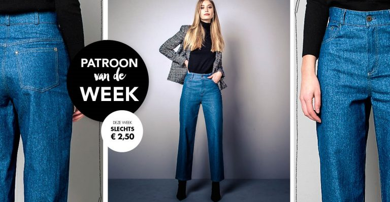 Patroon van de week | Mom-Jeans