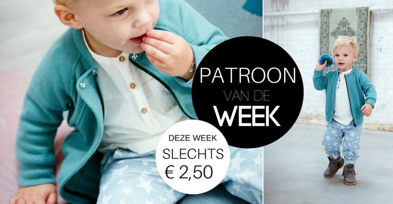 Patroon van de week | Vest Arwin