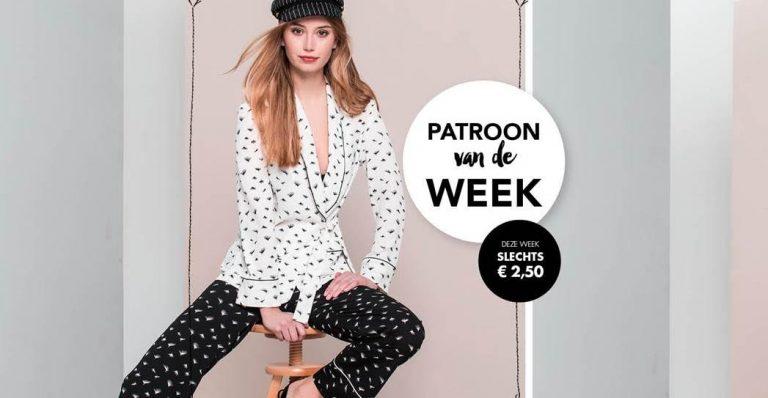 Bestel voor €2,50 het patroon van deze week!
