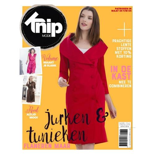 Knipmode april 2018 | Knipmode - Het zelfmaakmodeblad van Nederland