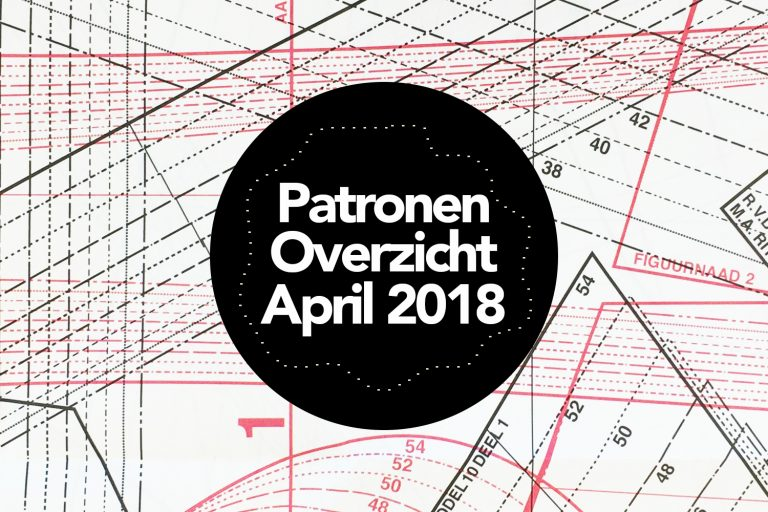 Patronenoverzicht | Knipmode april 2018