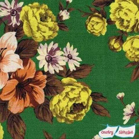 Fabric Friday | Vintage bloemendessins als nieuw
