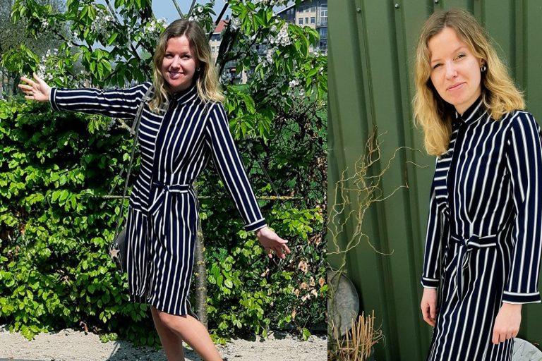 Inzending van de week | Mieke Stevens – jurk & vestje