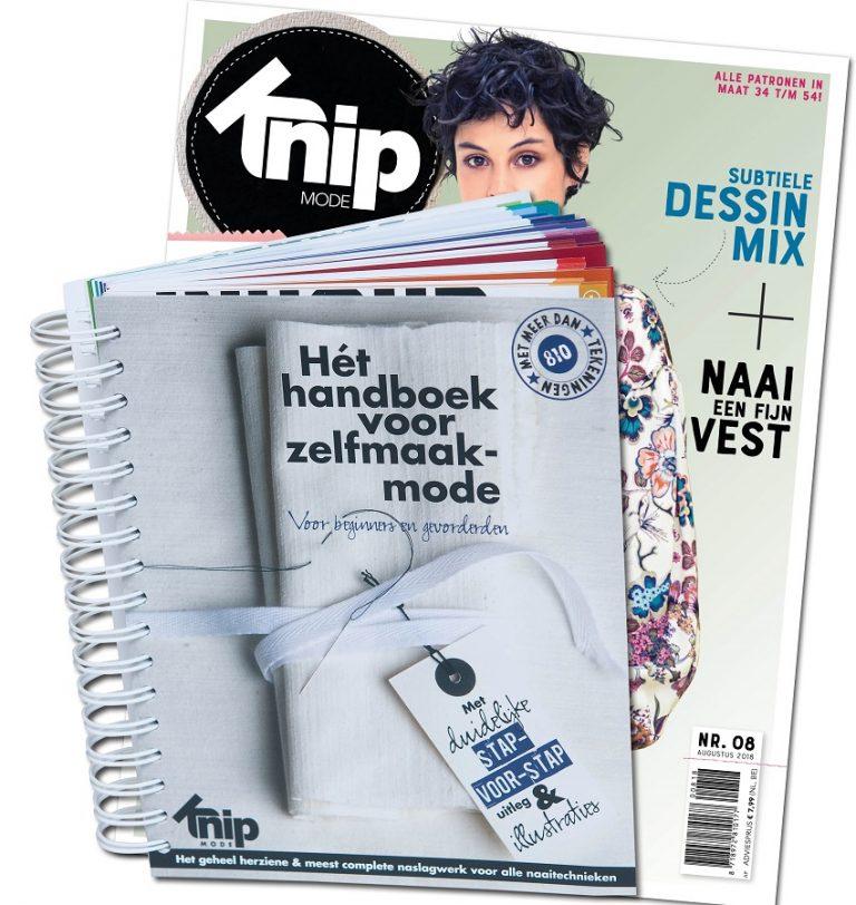 6x Knipmode + handboek voor €40 i.p.v.€ 74,50
