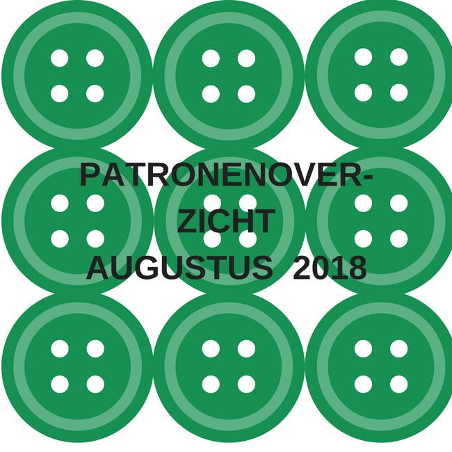 Patronenoverzicht | Knipmode augustus 2018