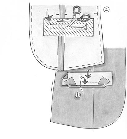 gepassepoileerde zak stap 4