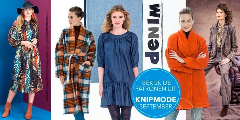 Bekijk hier alle patronen uit Knipmode september 2018