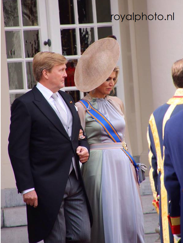 Naai de prinsjesdag jurk van Maxima