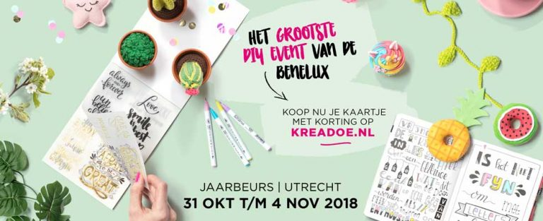 Win 2 kaartjes voor de KreaDoe!