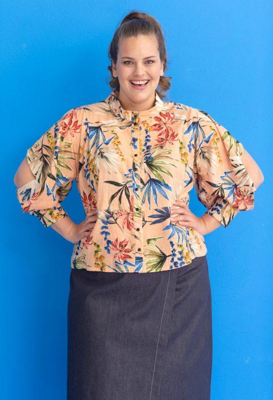 KM 5 blouse 13 en rok 7