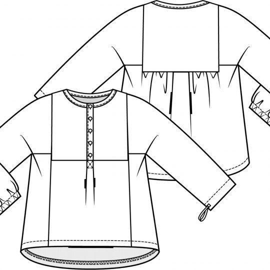 KM 5 blouse 20
