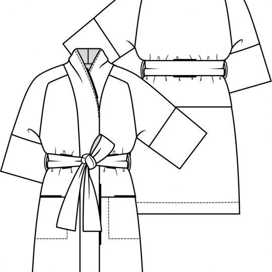 KM 6 kimono jurk 15