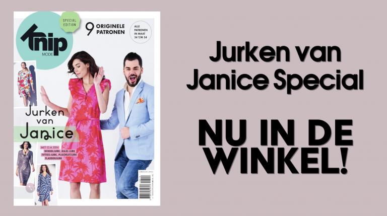 Heb jij de Knipmode Jurken van Janice special al in huis?