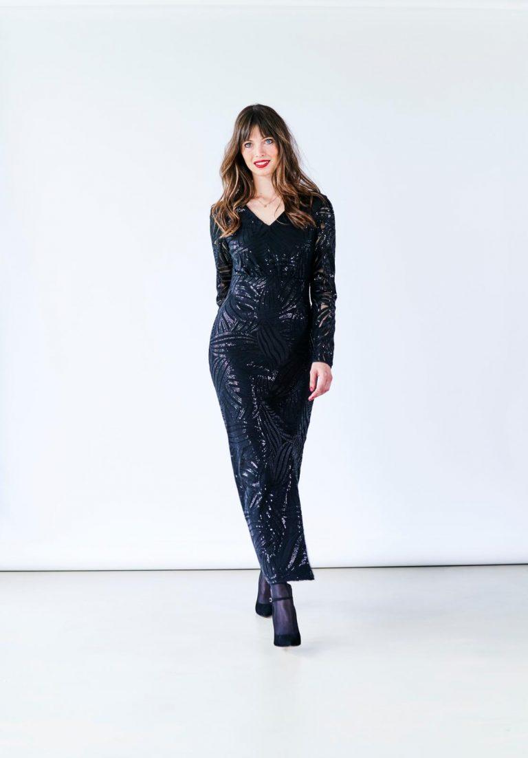 Maxi jurk 2 Knip december 2019