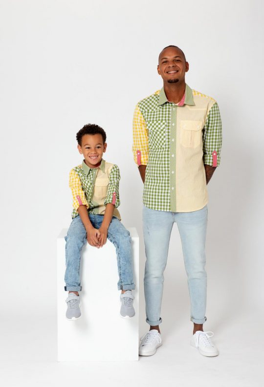 KM 3 overhemd 1 Mini Me