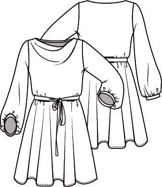 Knipmode 3 jurk 15