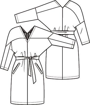 Knipmode 3 jurk 17