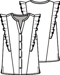 Knipmode 4 blouse 20
