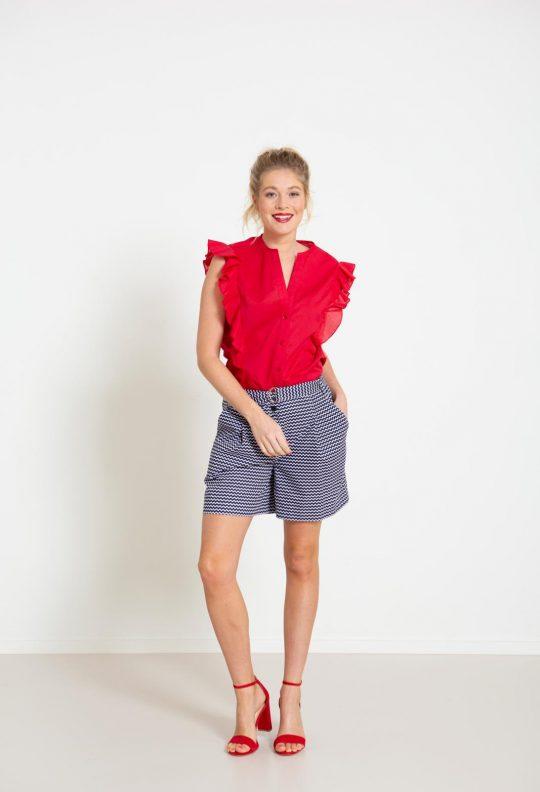 _Knipmode 4 blouse 20 bermuda 26 VK