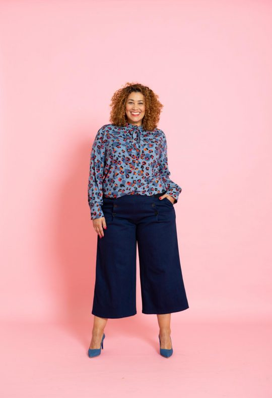 Knipmode 4 blouse 20 culotte 25