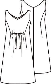 Knipmode 4 jurk 13