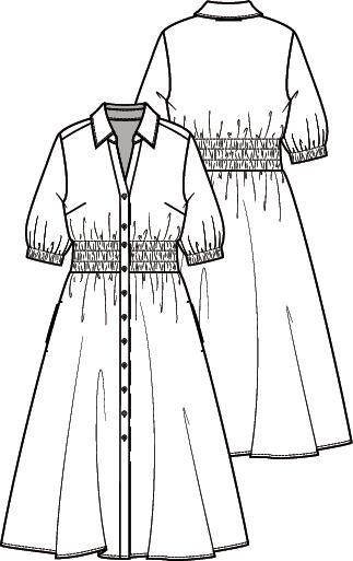 Knipmode 4 jurk 17