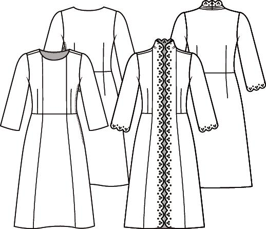 Knipmode 4 jurk 5