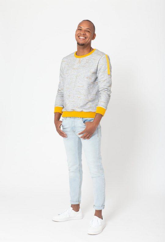 Knipmode 4 sweater 4 man