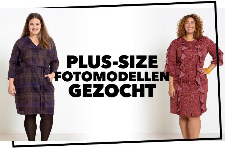 Plus-size fotomodellen gezocht