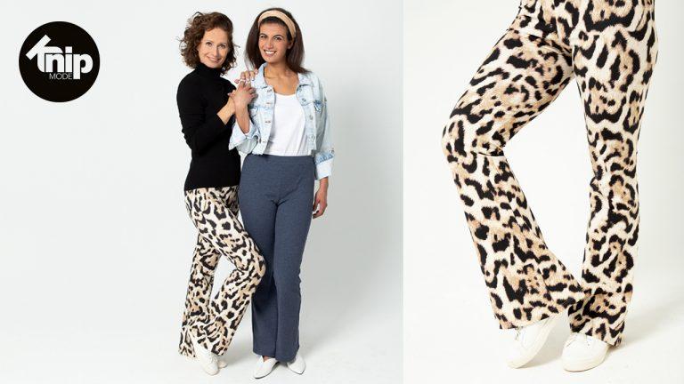 Live naaien met Lotte | Knipmode | Flared broek 3, Knipmode 3, maart 2020